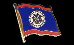 Spilla Bandiera Belize - 2 x 2 cm