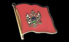 Spilla Bandiera Montenegro - 2 x 2 cm