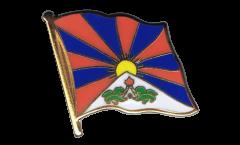 Spilla Bandiera Tibet - 2 x 2 cm