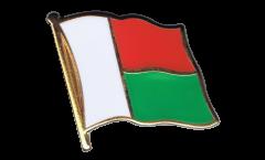 Spilla Bandiera Madagascar - 2 x 2 cm