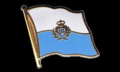 Spilla Bandiera San Marino - 2 x 2 cm