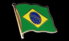 Spilla Bandiera Brasile - 2 x 2 cm