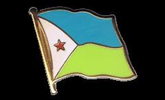 Spilla Bandiera Gibuti - 2 x 2 cm