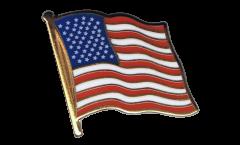 Spilla Bandiera USA - 2 x 2 cm