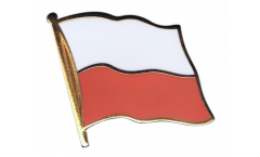 Spilla Bandiera Polonia - 2 x 2 cm