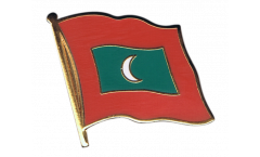Spilla Bandiera Maldive - 2 x 2 cm