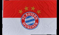Bandiera FC Bayern München Logo - 120 x 180 cm