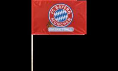 Bandiera da asta FC Bayern München Basket - 40 x 60 cm