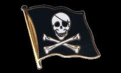 Spilla Bandiera Pirata - 2 x 2 cm