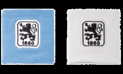 Fascia di sudore TSV 1860 München, set da 2 - 8 x 9 cm
