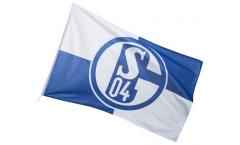 Bandiera FC Schalke 04 Karo - 100 x 150 cm
