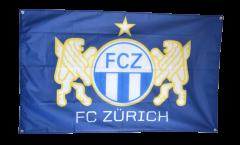 Bandiera FC Zürich - 90 x 140 cm