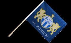 Bandiera da asta FC Zürich - 60 x 75 cm