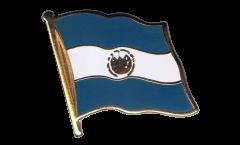 Spilla Bandiera El Salvador - 2 x 2 cm