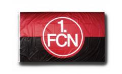Bandiera 1. FC Nürnberg Logo rosso-nero - 150 x 250 cm