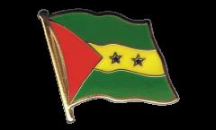 Spilla Bandiera Sao Tomè e Principe - 2 x 2 cm