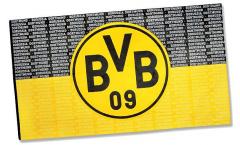Bandiera Borussia Dortmund Scrittura - 150 x 250 cm