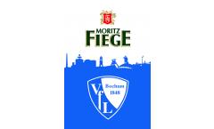 Bandiera VfL Bochum VfL und Fiege - 100 x 150 cm