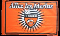 Bandiera FC Lorient - 90 x 140 cm