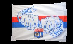 Bandiera Olympique Lyon - 100 x 140 cm