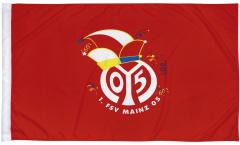 Bandiera 1. FSV Mainz 05 Logo - 80 x 120 cm