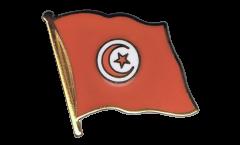Spilla Bandiera Tunisia - 2 x 2 cm