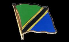 Spilla Bandiera Tanzania - 2 x 2 cm