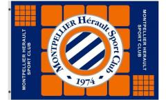 Bandiera HSC Montpellier - 90 x 150 cm