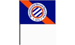 Bandiera da asta HSC Montpellier - 40 x 60 cm