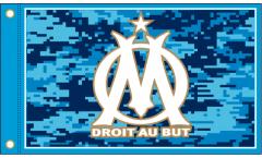 Bandiera Olympique Marseille Logo - 90 x 150 cm