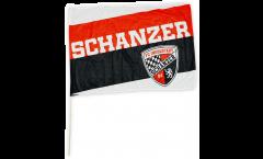 Bandiera da asta FC Ingolstadt 04 Schanzer - 60 x 90 cm