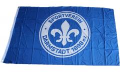Bandiera SV Darmstadt 98 Logo - 90 x 150 cm
