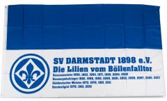 Bandiera SV Darmstadt 98 Successo - 90 x 150 cm