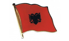 Spilla Bandiera Albania - 2 x 2 cm