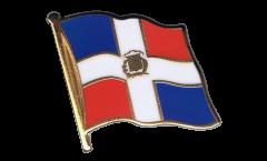 Spilla Bandiera Repubblica Domenicana - 2 x 2 cm