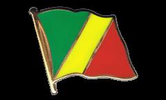 Spilla Bandiera Congo - 2 x 2 cm