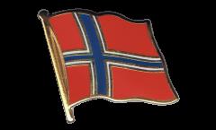 Spilla Bandiera Norvegia - 2 x 2 cm