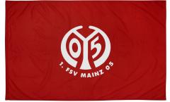 Bandiera 1. FSV Mainz 05 Logo - 100 x 150 cm