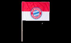 Bandiera da asta FC Bayern München Logo - 60 x 90 cm