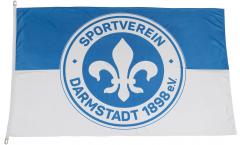 Bandiera SV Darmstadt 98 - 100 x 150 cm
