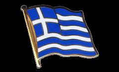 Spilla Bandiera Grecia - 2 x 2 cm