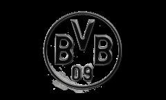 Adesivo Borussia Dortmund Nero - 8 x 8 cm