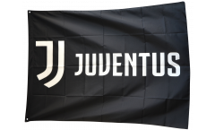 Bandiera Juventus Turin Logo - 100 x 140 cm