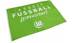 Bandiera VfL Wolfsburg XL - 120 x 180 cm