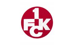 Applicazioni 1. FC Kaiserslautern Logo - ca. 6 cm