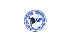 Spilla Arminia Bielefeld Wappen - 1.5 x 1.5 cm