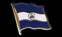 Spilla Bandiera Nicaragua - 2 x 2 cm