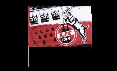 Bandiera da asta 1. FC Köln Wappen - 60 x 90 cm