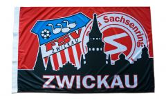 Bandiera FSV Zwickau - 80 x 120 cm