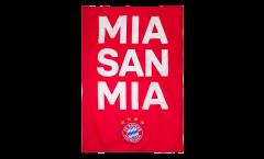 Bandiera FC Bayern München Mia San Mia - 100 x 150 cm